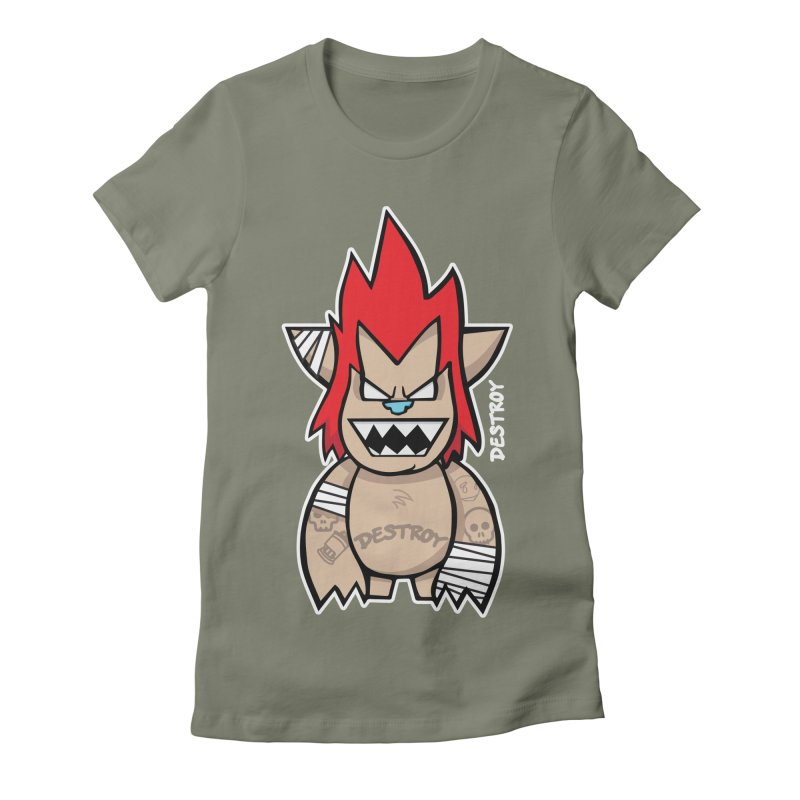 WARILLA (HARDCORE CLASSIC) Women's Fitted T-Shirt by SergAndDestroy's Artist Shop