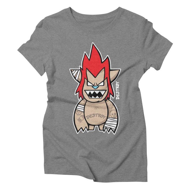 WARILLA (HARDCORE CLASSIC) Women's Triblend T-Shirt by SergAndDestroy's Artist Shop