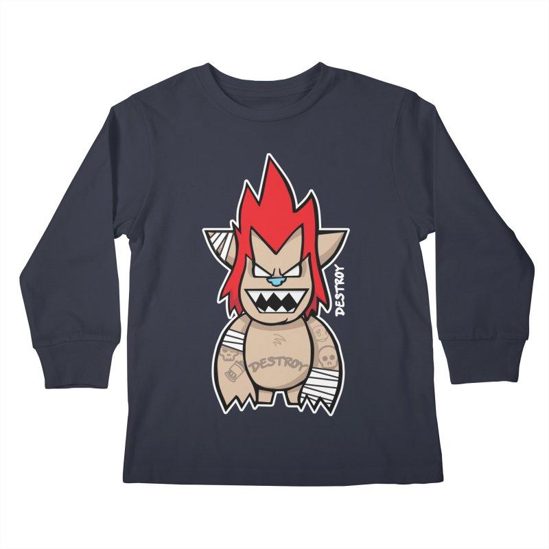 WARILLA (HARDCORE CLASSIC) Kids Longsleeve T-Shirt by SergAndDestroy's Artist Shop