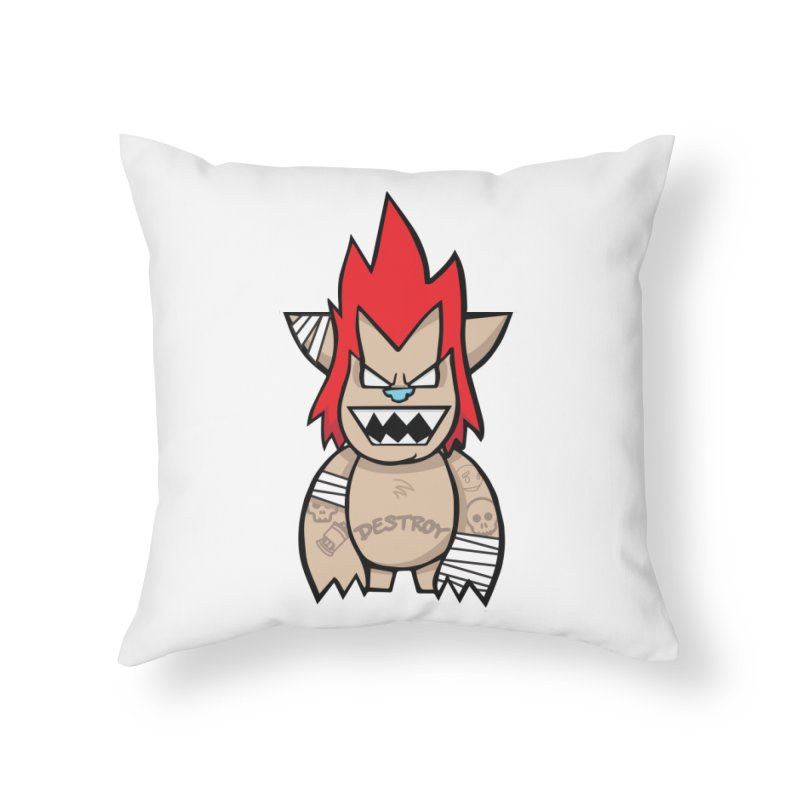 WARILLA (HARDCORE CLASSIC) Home Throw Pillow by SergAndDestroy's Artist Shop