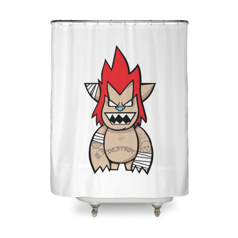 WARILLA (HARDCORE CLASSIC) Home Shower Curtain by SergAndDestroy's Artist Shop