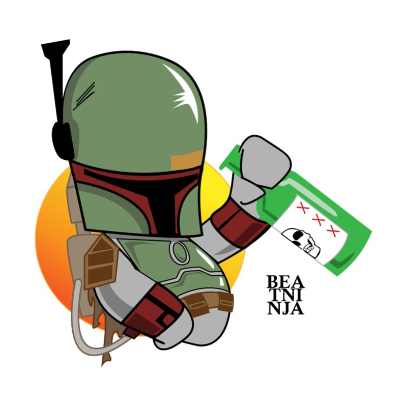 Boba Fett Happy Hour by Serganddestroy's Artist Shop
