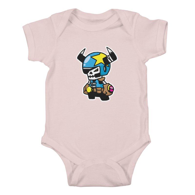 GALACTIC GAIKOTSU AKA GG Kids Baby Bodysuit by SergAndDestroy's Artist Shop