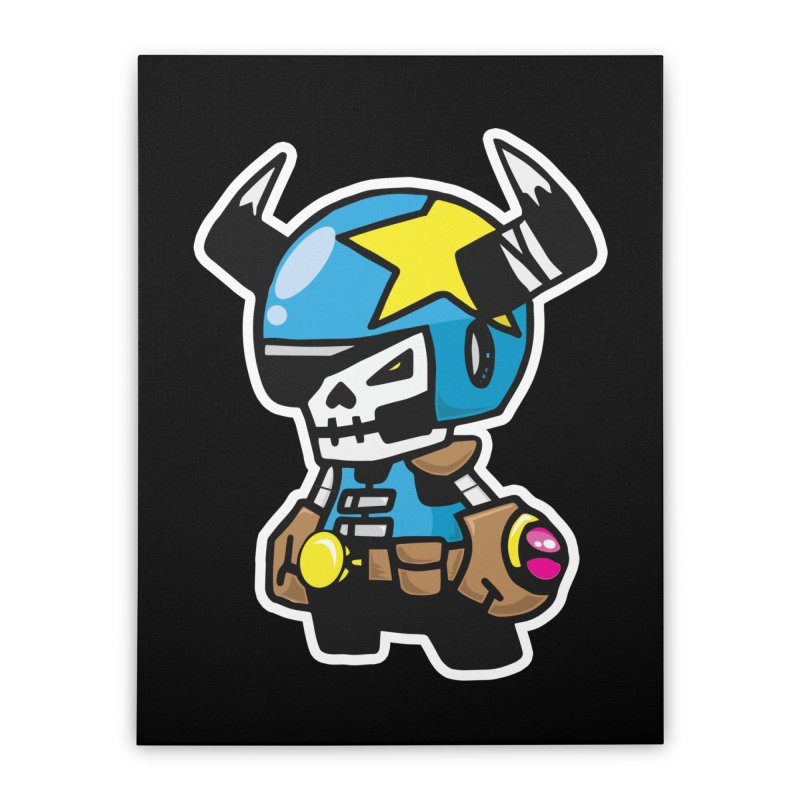 GALACTIC GAIKOTSU AKA GG Home Stretched Canvas by SergAndDestroy's Artist Shop