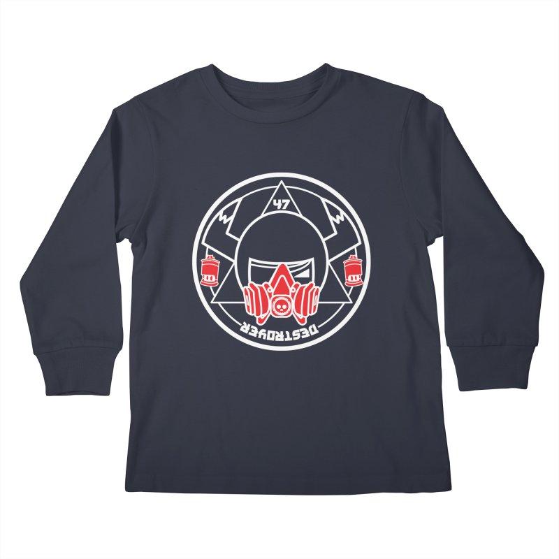 GG DESTROYER SUMMON CIRCLE Kids Longsleeve T-Shirt by SergAndDestroy's Artist Shop