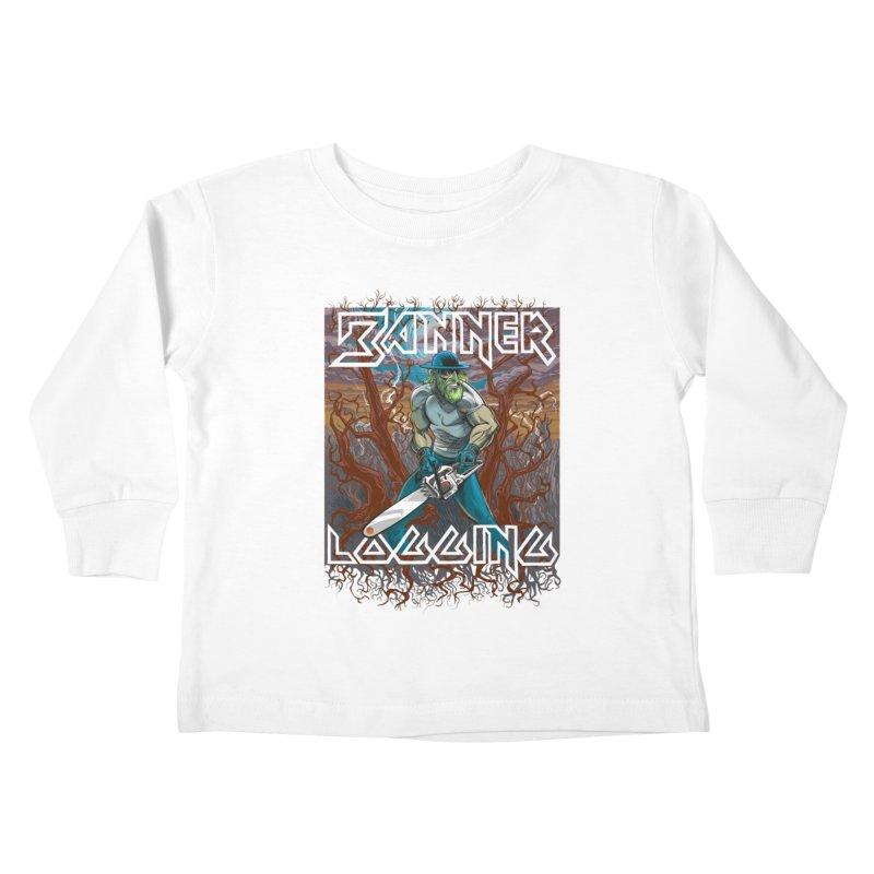 Banner Logging Kids Toddler Longsleeve T-Shirt by Seth Banner's Artist Shop
