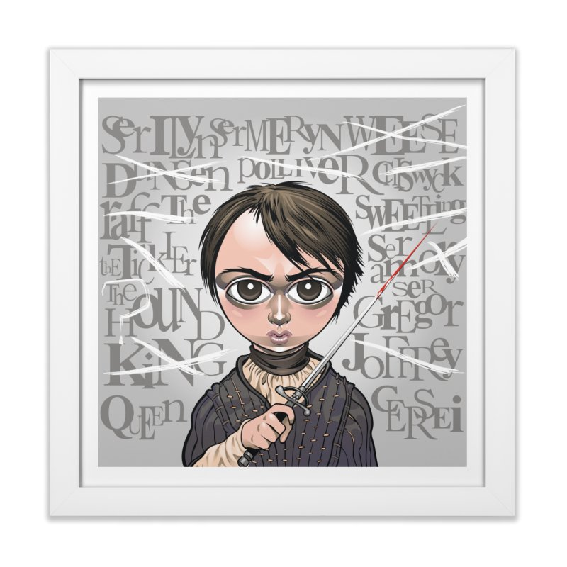 A Girl Has No Name Home Framed Fine Art Print by Seth Banner's Artist Shop