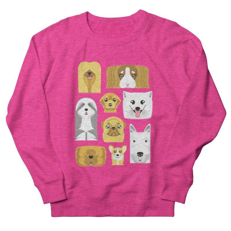 Puppies Women's Sweatshirt by Seth Banner's Artist Shop
