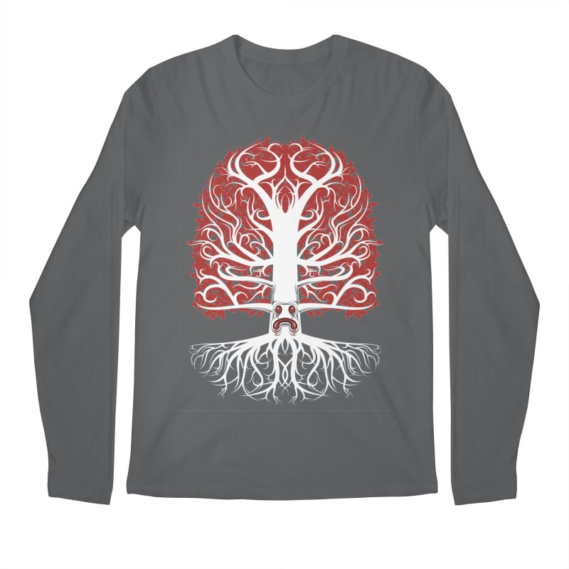 Heart Tree of the Gods' Wood Men's Longsleeve T-Shirt by Seth Banner's Artist Shop