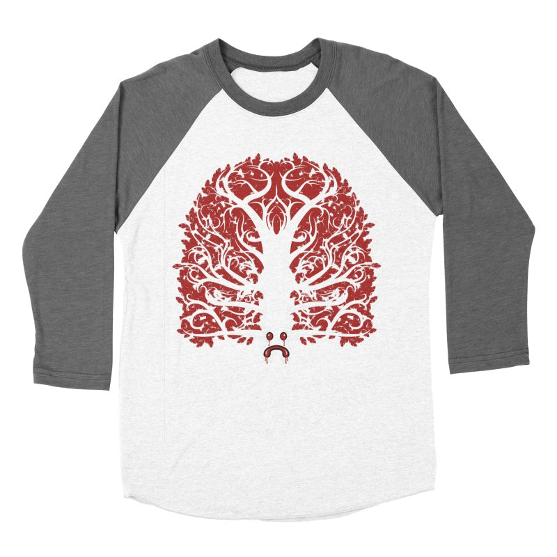 Heart Tree of the Gods' Wood Men's Baseball Triblend T-Shirt by Seth Banner's Artist Shop
