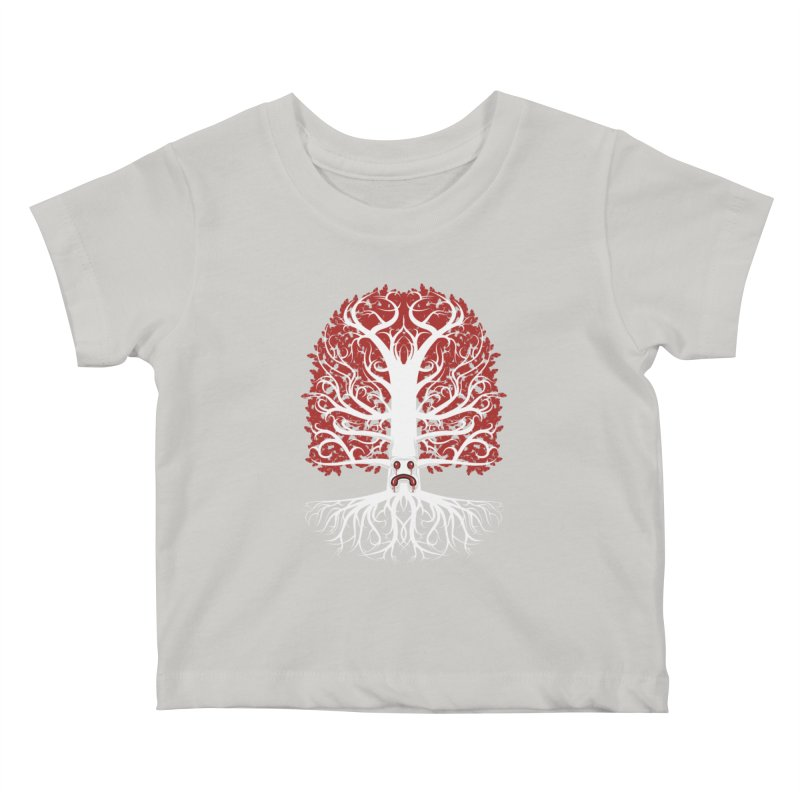Heart Tree of the Gods' Wood Kids Baby T-Shirt by Seth Banner's Artist Shop