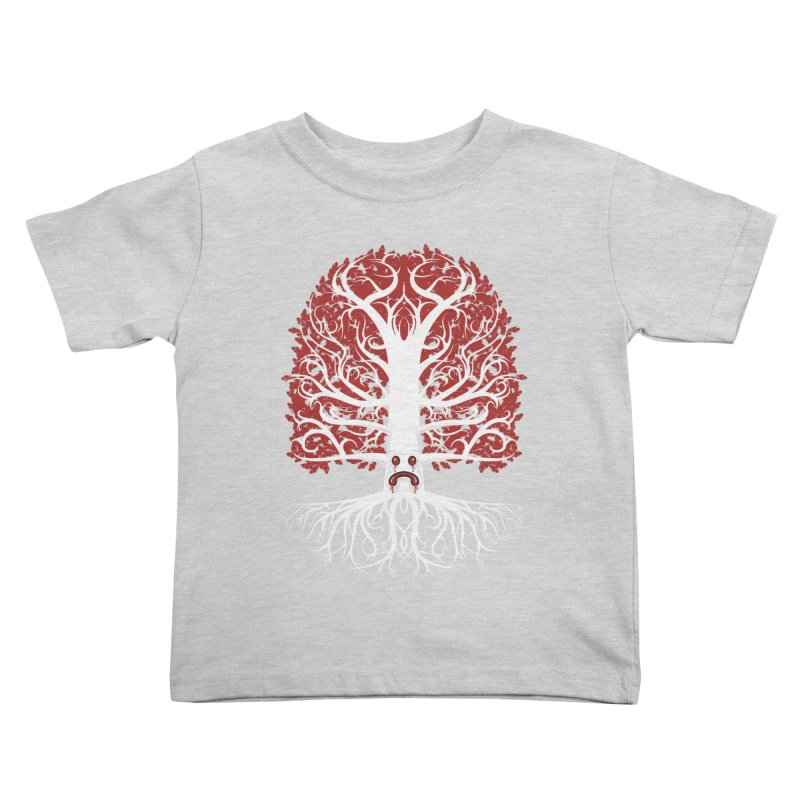 Heart Tree of the Gods' Wood Kids Toddler T-Shirt by Seth Banner's Artist Shop