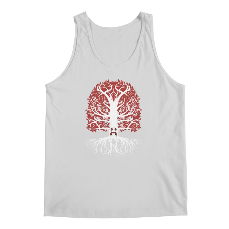 Heart Tree of the Gods' Wood Men's Tank by Seth Banner's Artist Shop