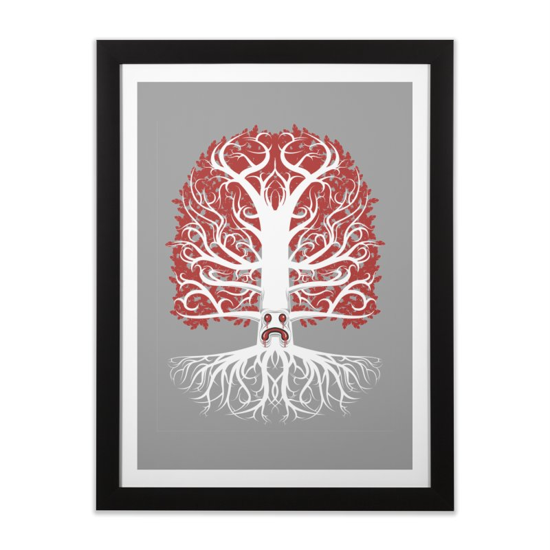 Heart Tree of the Gods' Wood Home Framed Fine Art Print by Seth Banner's Artist Shop