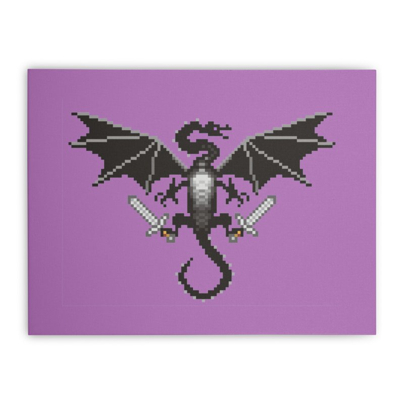 Ender Dragon Home Stretched Canvas by Seth Banner's Artist Shop