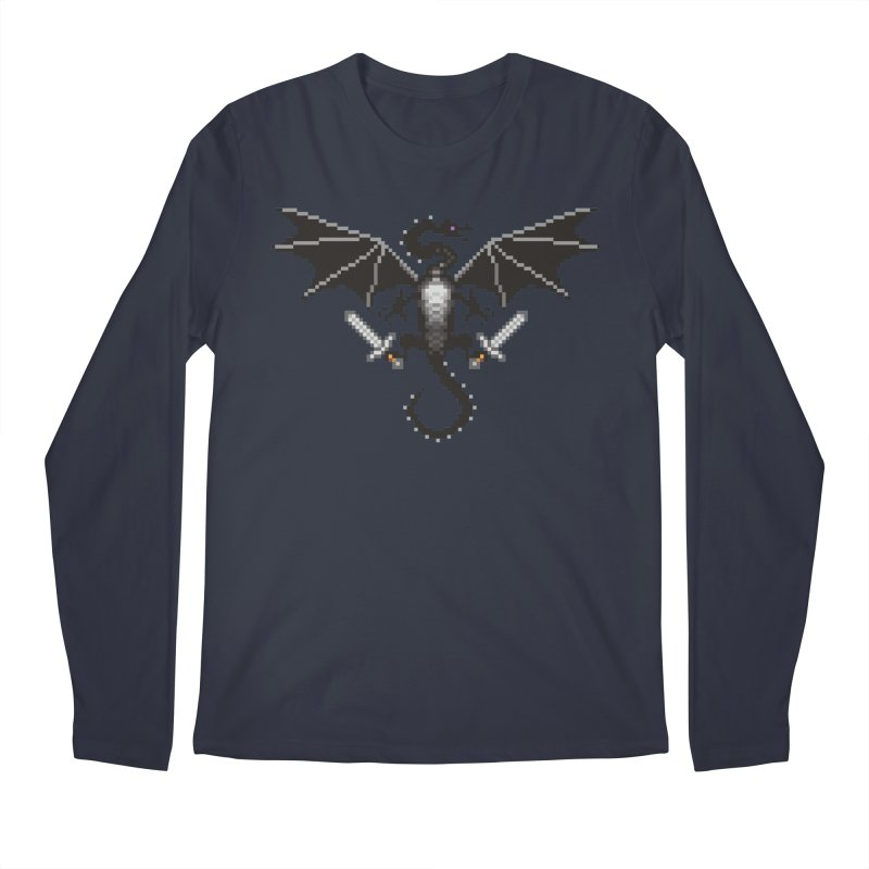 Ender Dragon Men's Longsleeve T-Shirt by Seth Banner's Artist Shop