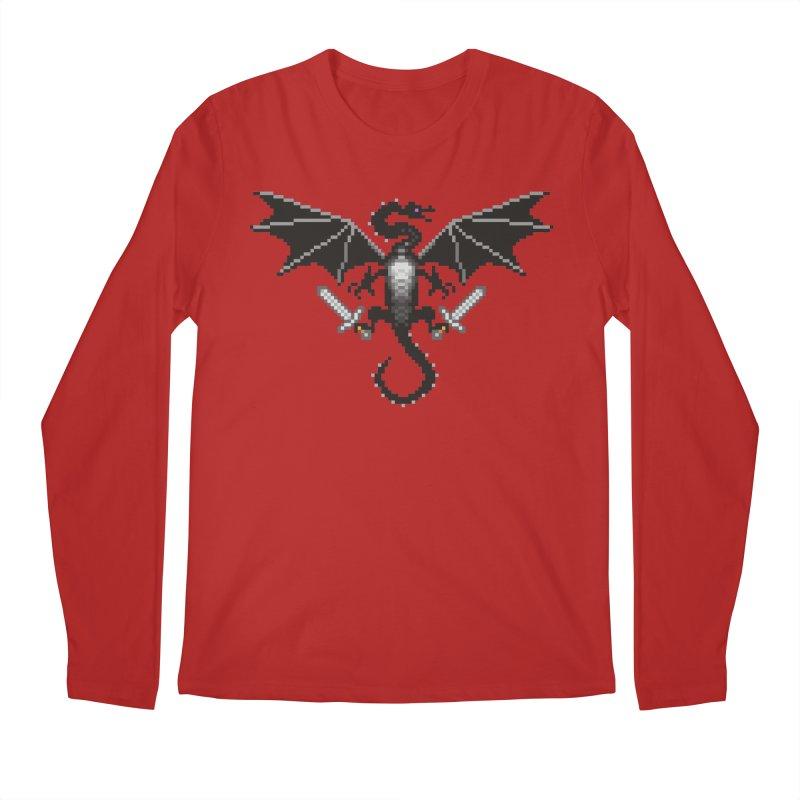 Ender Dragon Men's Longsleeve T-Shirt by Seth Banner's Artist Shop