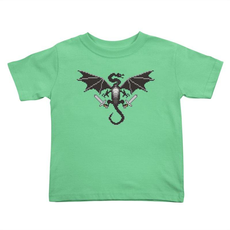 Ender Dragon Kids Toddler T-Shirt by Seth Banner's Artist Shop