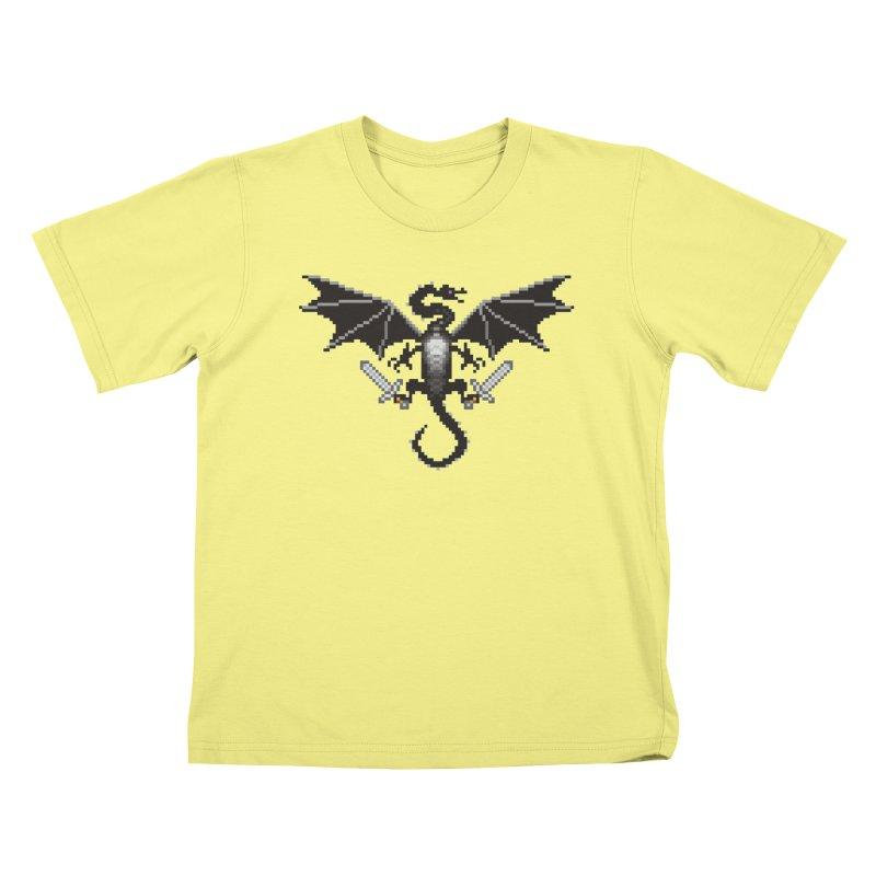 Ender Dragon Kids T-shirt by Seth Banner's Artist Shop