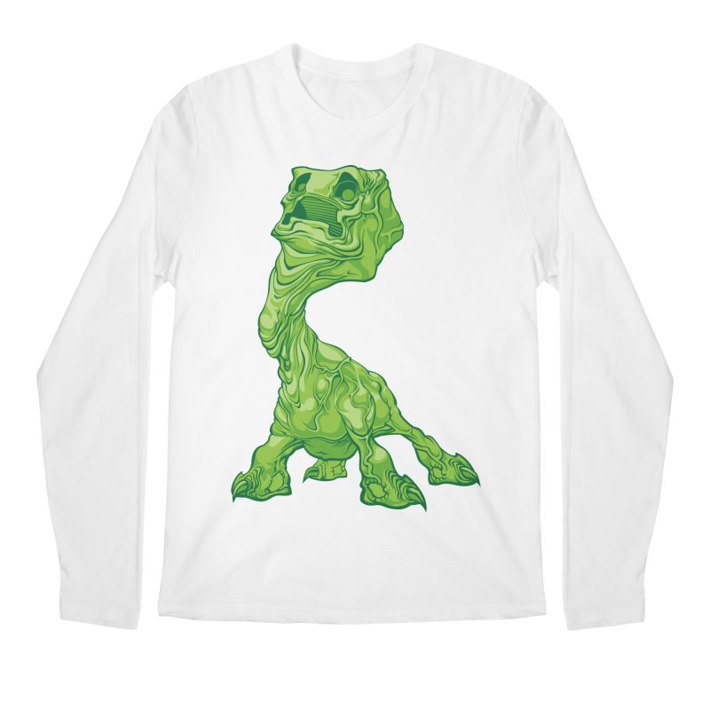 Creepy Creeper creeping. Men's Longsleeve T-Shirt by Seth Banner's Artist Shop
