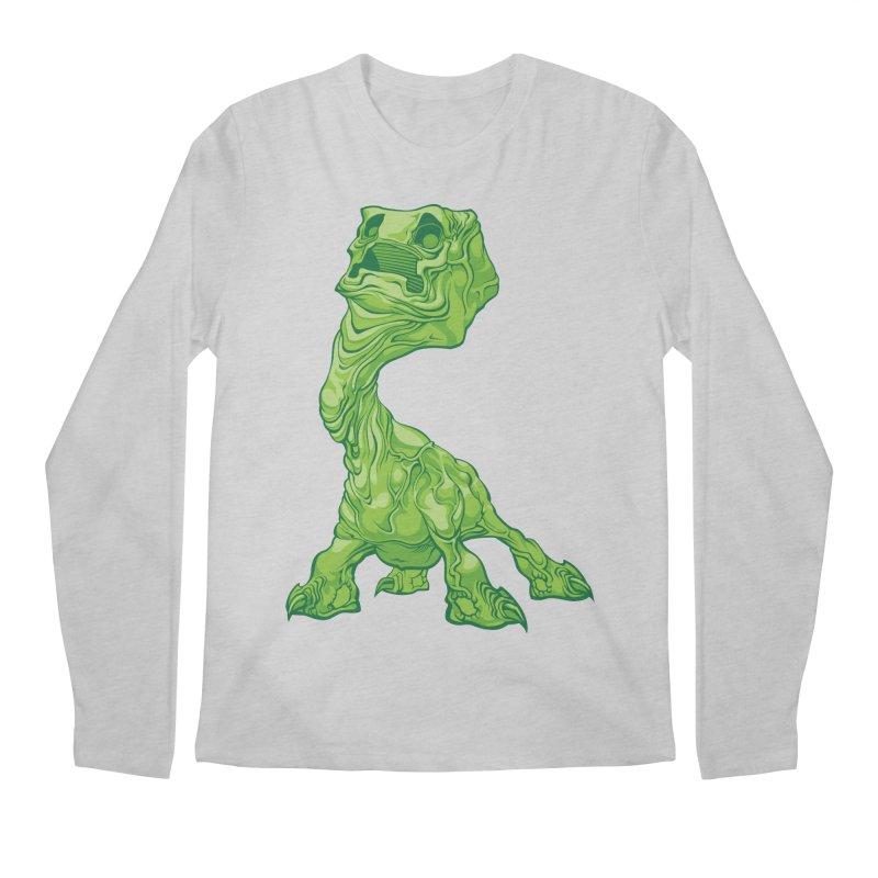Creepy Creeper creeping. Men's Longsleeve T-Shirt by Seth Banner's Artist Shop
