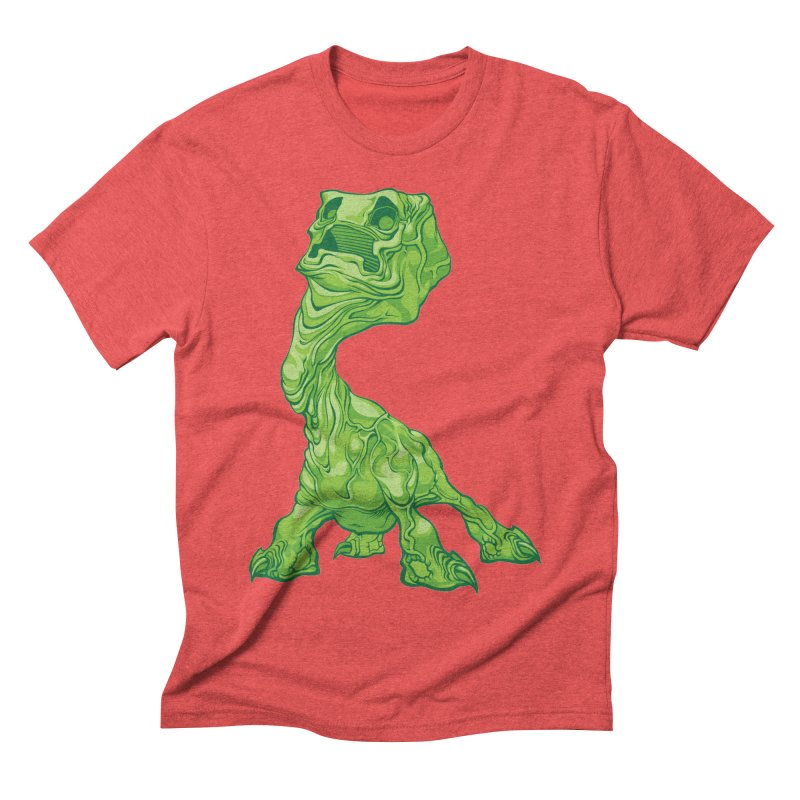 Creepy Creeper creeping. Men's Triblend T-Shirt by Seth Banner's Artist Shop