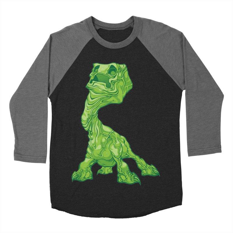 Creepy Creeper creeping. Women's Baseball Triblend T-Shirt by Seth Banner's Artist Shop
