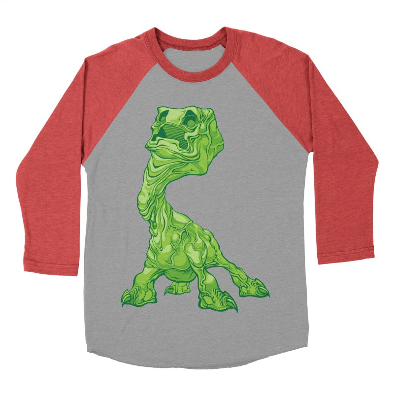 Creepy Creeper creeping. Men's Baseball Triblend T-Shirt by Seth Banner's Artist Shop