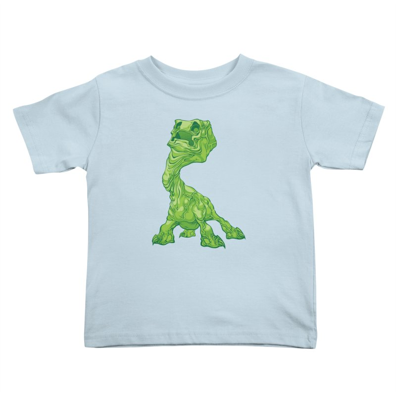 Creepy Creeper creeping. Kids Toddler T-Shirt by Seth Banner's Artist Shop