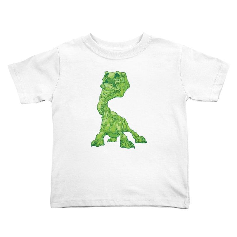 Creepy Creeper creeping. Kids Toddler T-Shirt by Seth Banner's Artist Shop