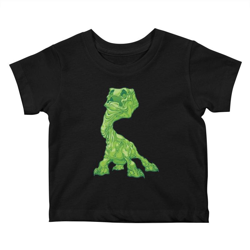 Creepy Creeper creeping. Kids Baby T-Shirt by Seth Banner's Artist Shop