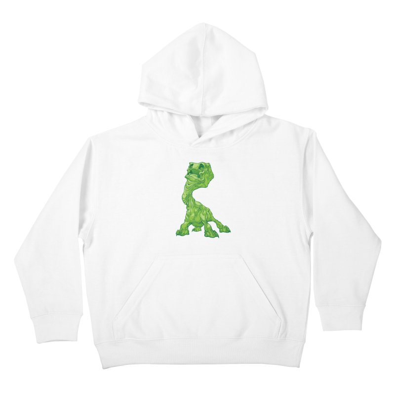 Creepy Creeper creeping. Kids Pullover Hoody by Seth Banner's Artist Shop