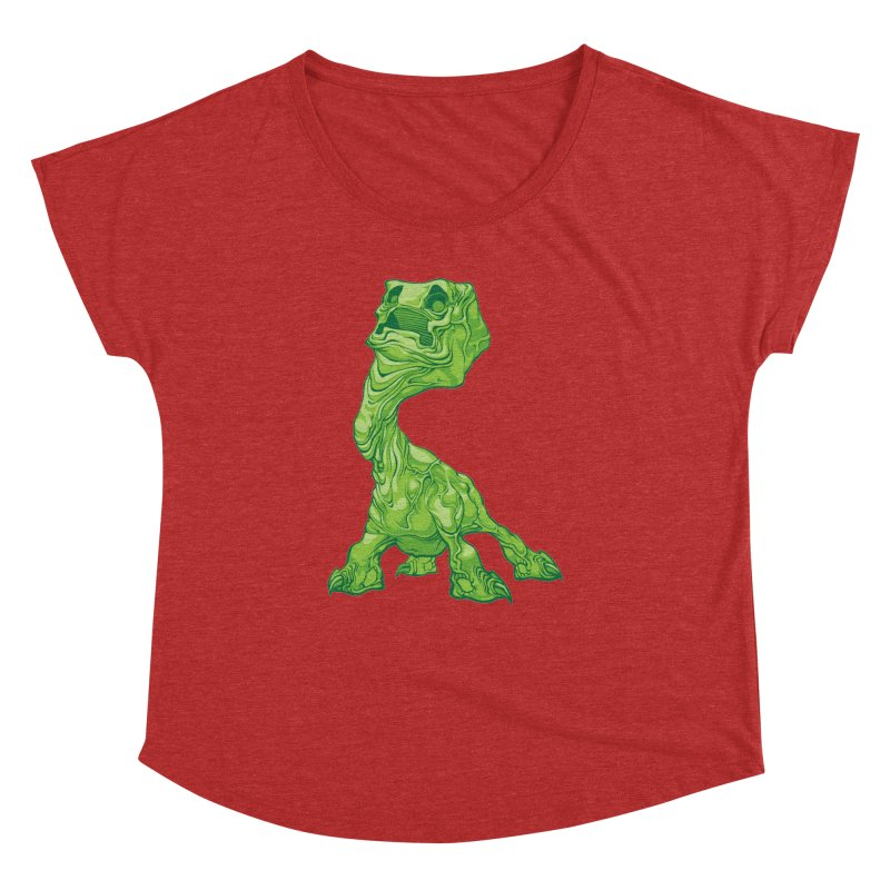 Creepy Creeper creeping. Women's Dolman by Seth Banner's Artist Shop