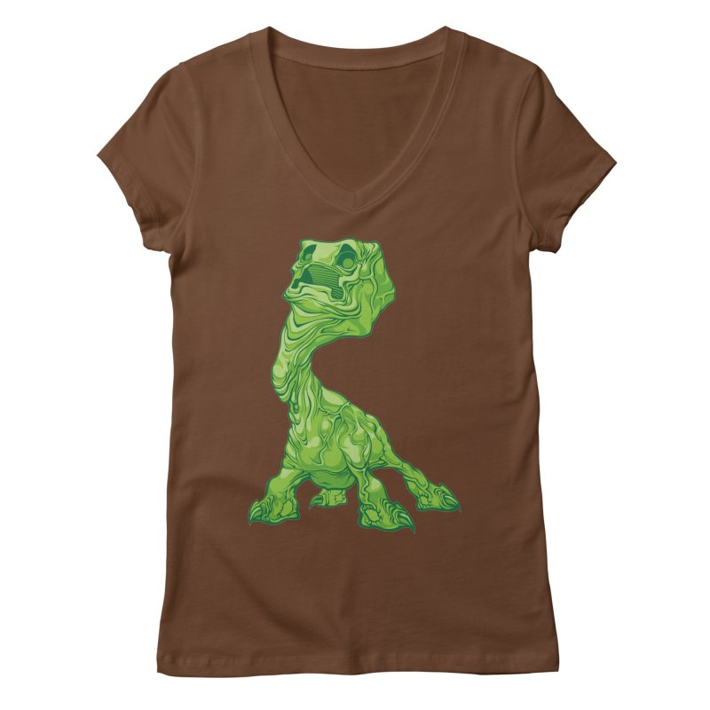 Creepy Creeper creeping. Women's V-Neck by Seth Banner's Artist Shop