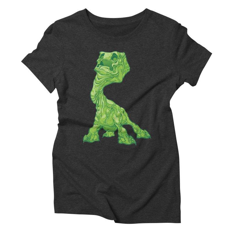 Creepy Creeper creeping. Women's Triblend T-Shirt by Seth Banner's Artist Shop