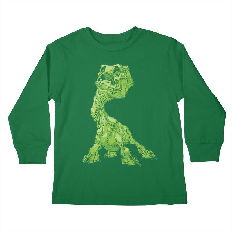 Creepy Creeper creeping. Kids Longsleeve T-Shirt by Seth Banner's Artist Shop