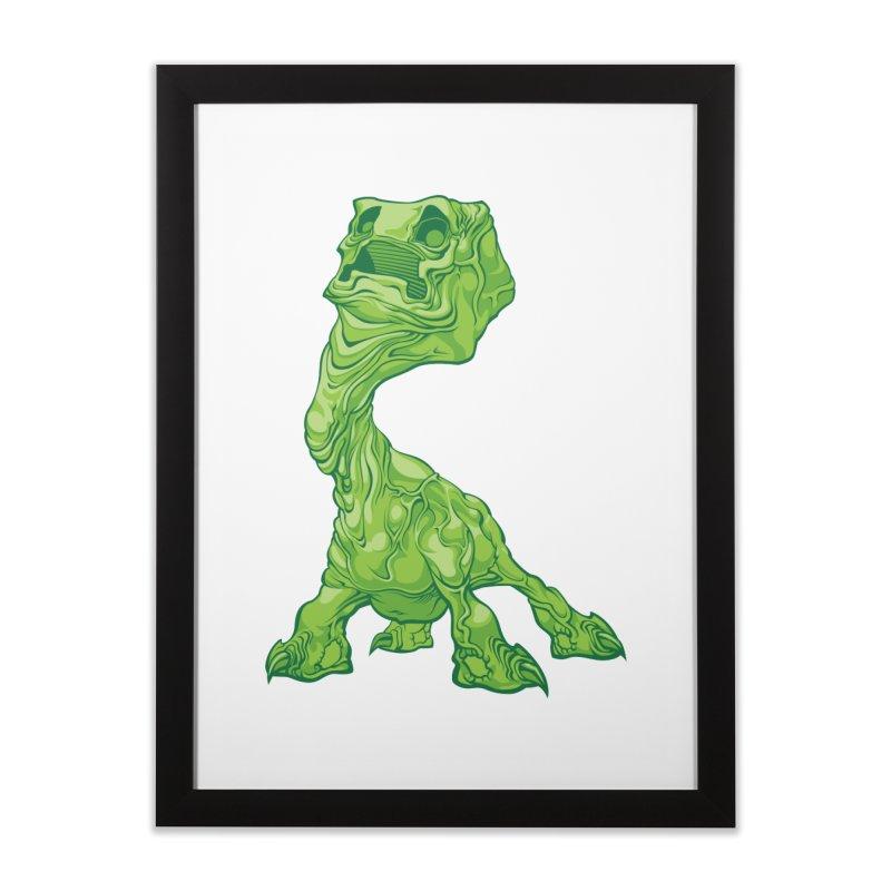 Creepy Creeper creeping. Home Framed Fine Art Print by Seth Banner's Artist Shop