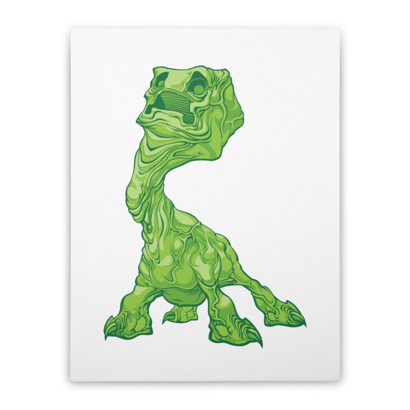 Creepy Creeper creeping. Home Stretched Canvas by Seth Banner's Artist Shop
