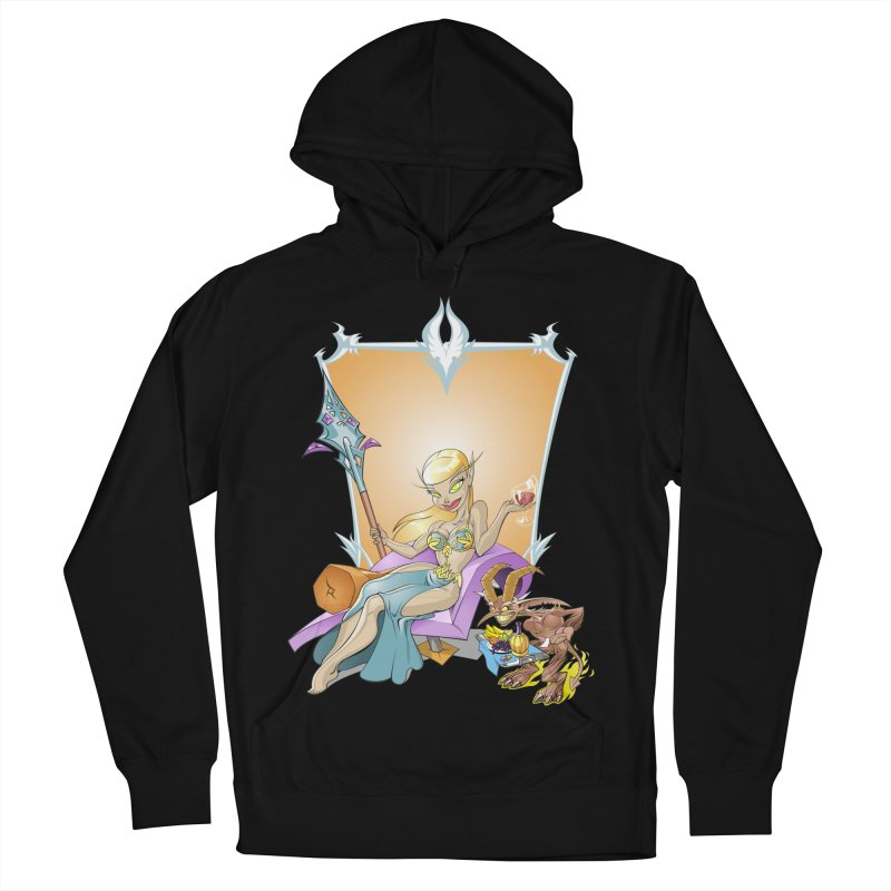 Blood Elf Warlock Women's Pullover Hoody by Seth Banner's Artist Shop