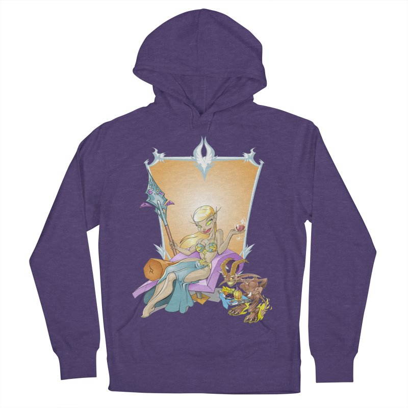 Blood Elf Warlock Men's Pullover Hoody by Seth Banner's Artist Shop