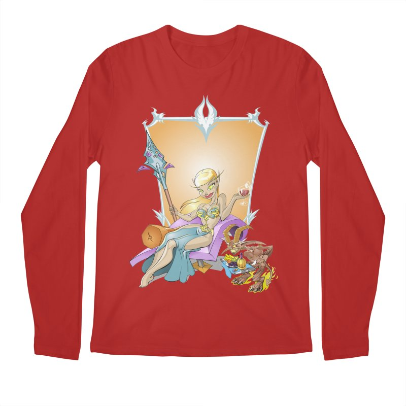 Blood Elf Warlock Men's Longsleeve T-Shirt by Seth Banner's Artist Shop