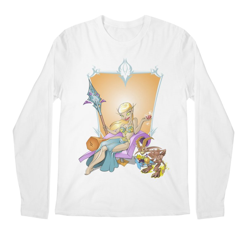Blood Elf Warlock Men's Longsleeve T-Shirt by Seth Banner's Artist Shop