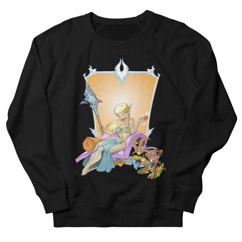 Blood Elf Warlock Women's Sweatshirt by Seth Banner's Artist Shop
