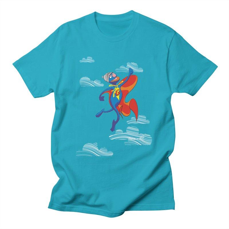 SuperGrover! Men's T-shirt by Seth Banner's Artist Shop