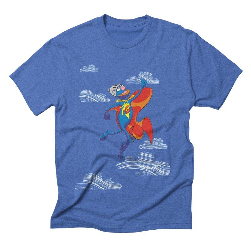 SuperGrover! Men's Triblend T-shirt by Seth Banner's Artist Shop
