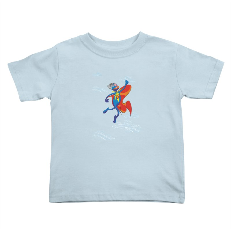 SuperGrover! Kids Toddler T-Shirt by Seth Banner's Artist Shop