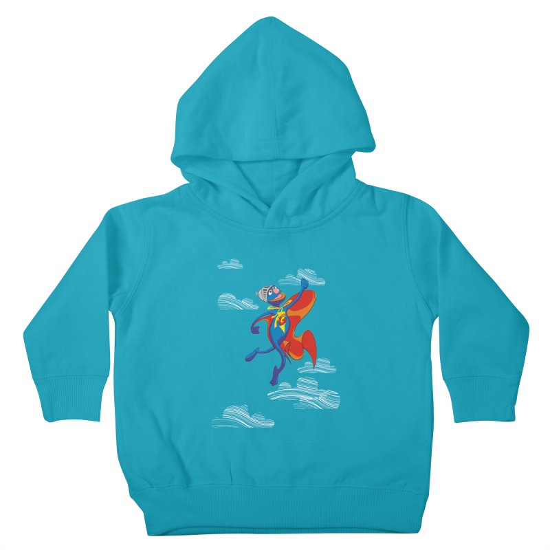 SuperGrover! Kids Toddler Pullover Hoody by Seth Banner's Artist Shop
