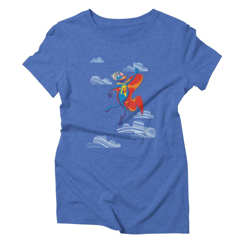SuperGrover! Women's Triblend T-shirt by Seth Banner's Artist Shop
