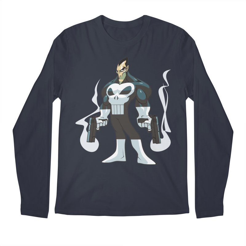 Frank is unimpressed. Men's Longsleeve T-Shirt by Seth Banner's Artist Shop