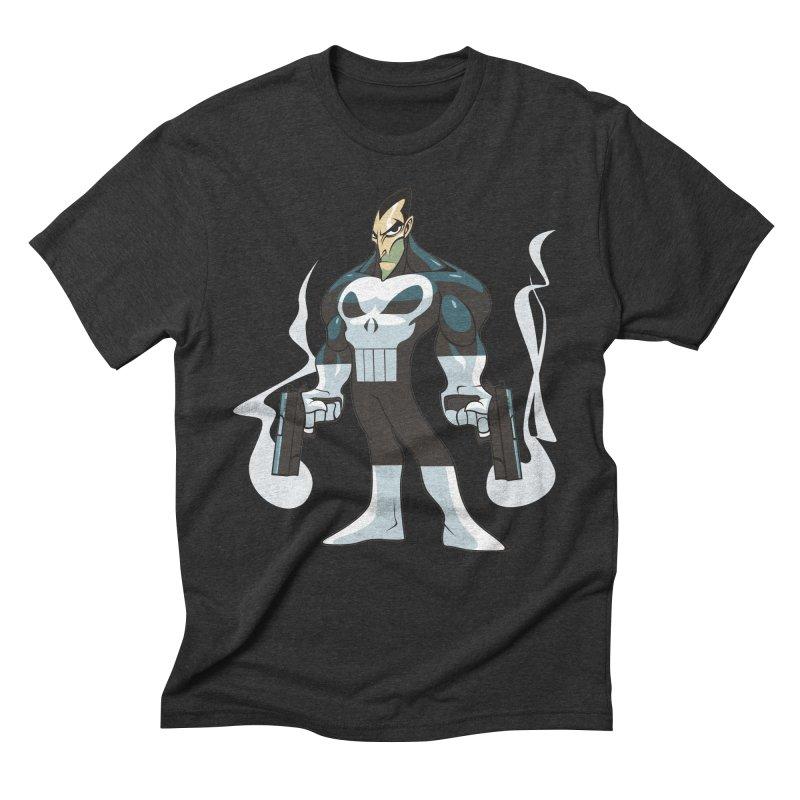 Frank is unimpressed. Men's Triblend T-Shirt by Seth Banner's Artist Shop